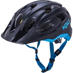 Kali Pace SLD Helm, matt black/blue